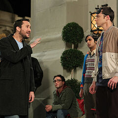 Wil Wheaton and friends are getting in before Sheldon's gang.