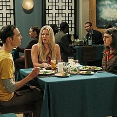 Penny on Amy & Sheldon's first date.