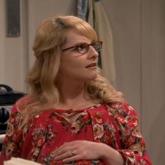 Bernadette is shocked that Raj let it slip.