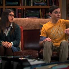 Sheldon, Amy and Lovey-Dovey.