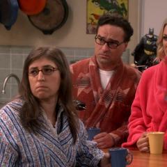 Why is Sheldon so happy?