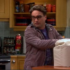 Leonard dealing with Sheldon.