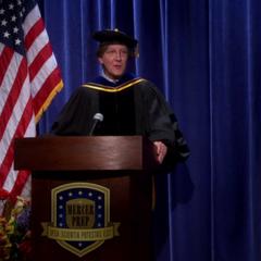 My I introduce the distinguished alumni, Dr. Leonard Hofstadter.