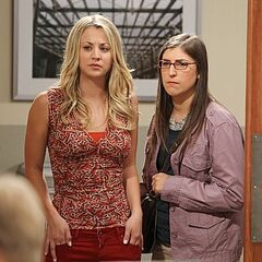 Penny and Amy decide to spy on Alex at Caltech.