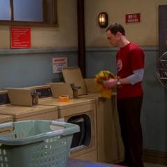 Angry Sheldon.
