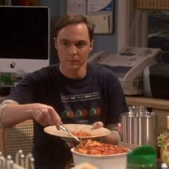 Sheldon comes to a realization.