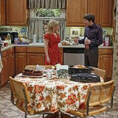 The TBBT gang working on Thanksgiving dinner.
