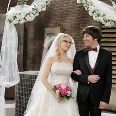 Mr. and Mrs. Howard Wolowitz.