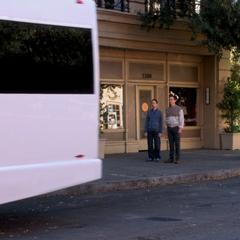 Leaving Sheldon and Stuart behind.