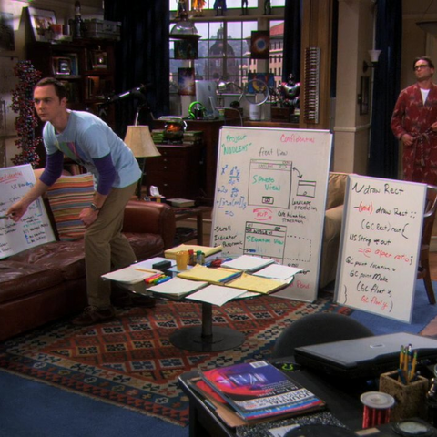 Sheldon follows through with 27 little tweaks to make the app slightly less embarrassing in