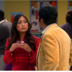 Raj meets a boring graduate student.