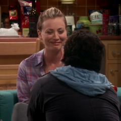 Penny is happy with Leonard's proposal.