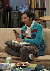 BBT - Raj with his phone