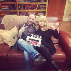 Steve and Melissa in SHELDON'S SPOT!