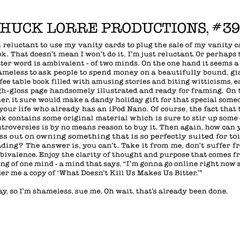 Chuck Lorre Productions, #393.