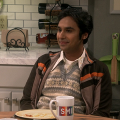 Raj crashes breakfast.