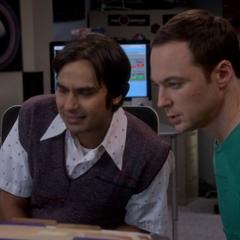 Sheldon found an anomaly.