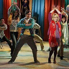 Raj's fantasy dance.