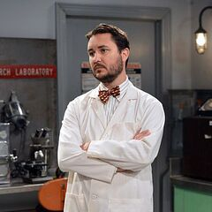 Wil Wheaton is Penny's on-screen boyfriend.