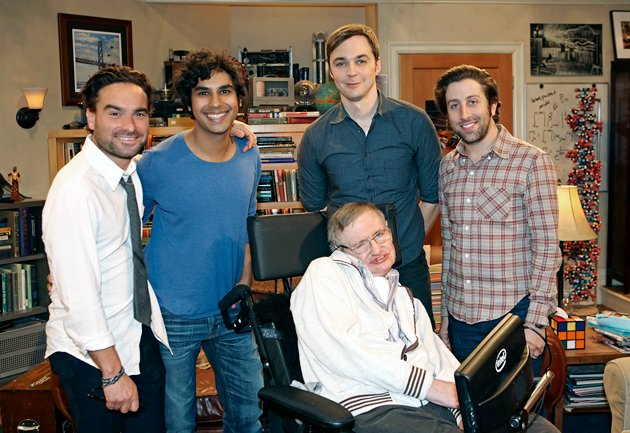 Image result for stephen hawking big bang theory