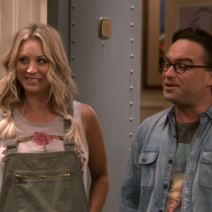 Penny proud of Sheldon.