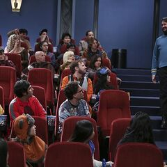 Wil Wheaton shows up as Spock and is booed.