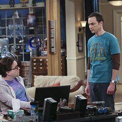 Sheldon's sincere apology to Leonard.