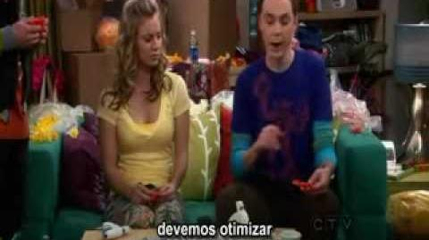 TBBT - Penny and Sheldon Singing and Working together........