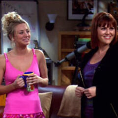 Stephanie meets Penny, who is dressed in her underwear.