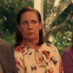 Shocked by Bernadette.