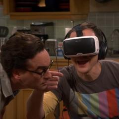 Leonard interpreting Sheldon's forest experience.