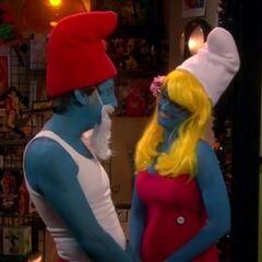 The Smurfs.