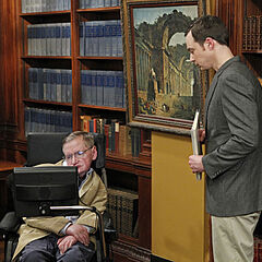 Sheldon gets to meet Stephen Hawking.