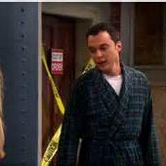 Sheldon had a nightmare.