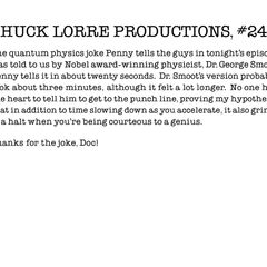 Chuck Lorre Productions, #247.