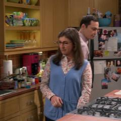 Sheldon turned on.