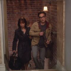 Leonard invites Mary to his home out of concern over Sheldon.