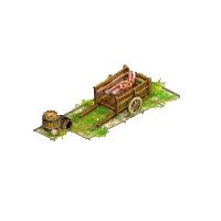 Carroa de madeira