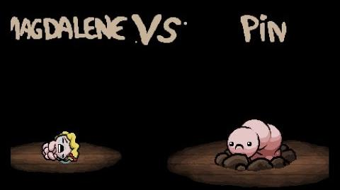 "The Binding of Isaac Rebirth ""Pin"" boss"