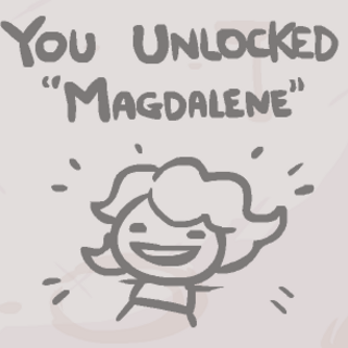 The secret appearing when unlocking Magdalene.