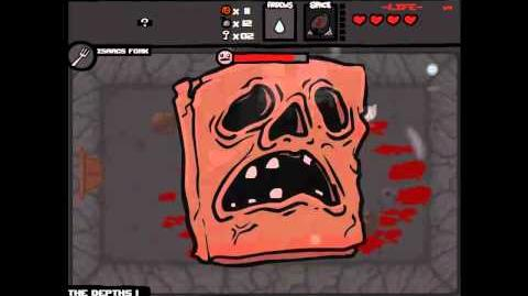 The Binding of Isaac Super Lust Mini Boss