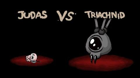 "The Binding of Isaac Rebirth ""Triachnid"" boss"
