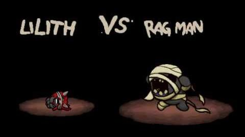 "The Binding of Isaac Afterbirth ""Rag Man"" boss fight"