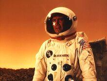 Dark Side of the Moon - Steve on an asteroid seeking dilanthium