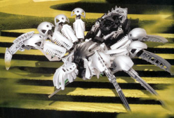 Silverchutespider