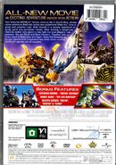 Back cover of Bionicle the Movie 4 two
