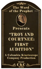 Kinetoscope Troy and Courtnee First Audition