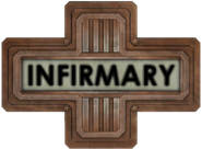 Infirmary Wing Sign