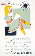 Little Miss Muffet 1940 poster