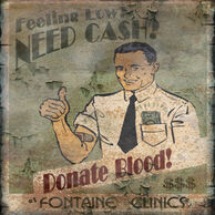 Fontaine Donate Blood